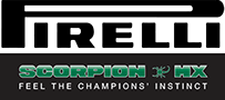 Pirelli Scopion MX Tire Logo