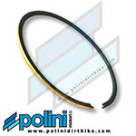 Polini PISTON RING 40.2 mm (GOLD) High Performance