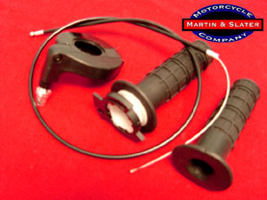 1/4 Turn Throttle Assembly & Throttle Cable for Polini Bikes